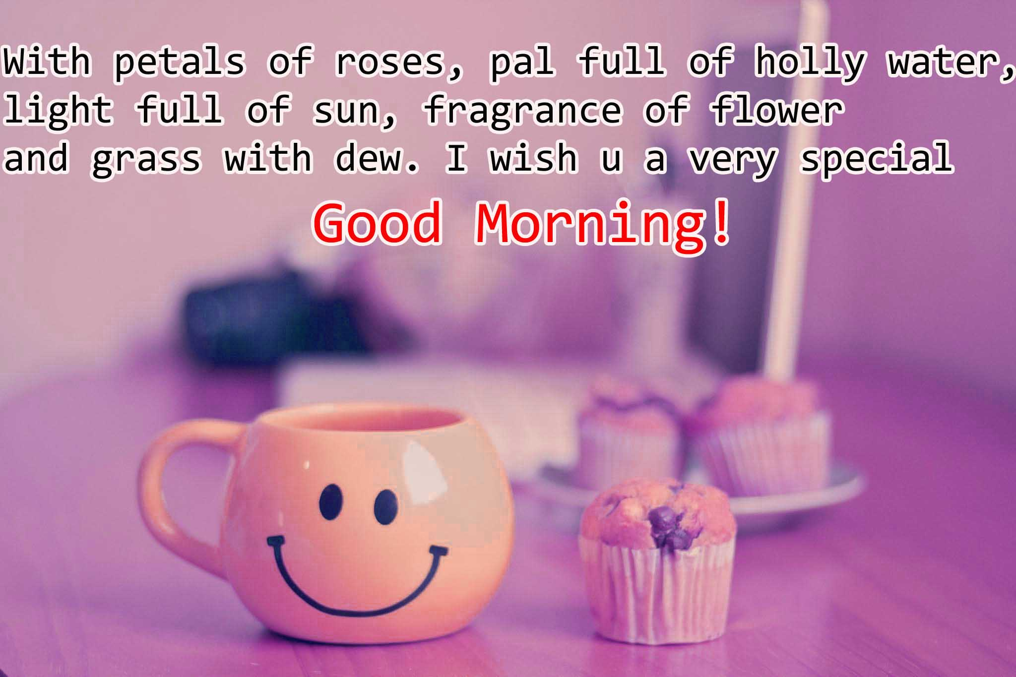Sweet Good Morning Wishes in English