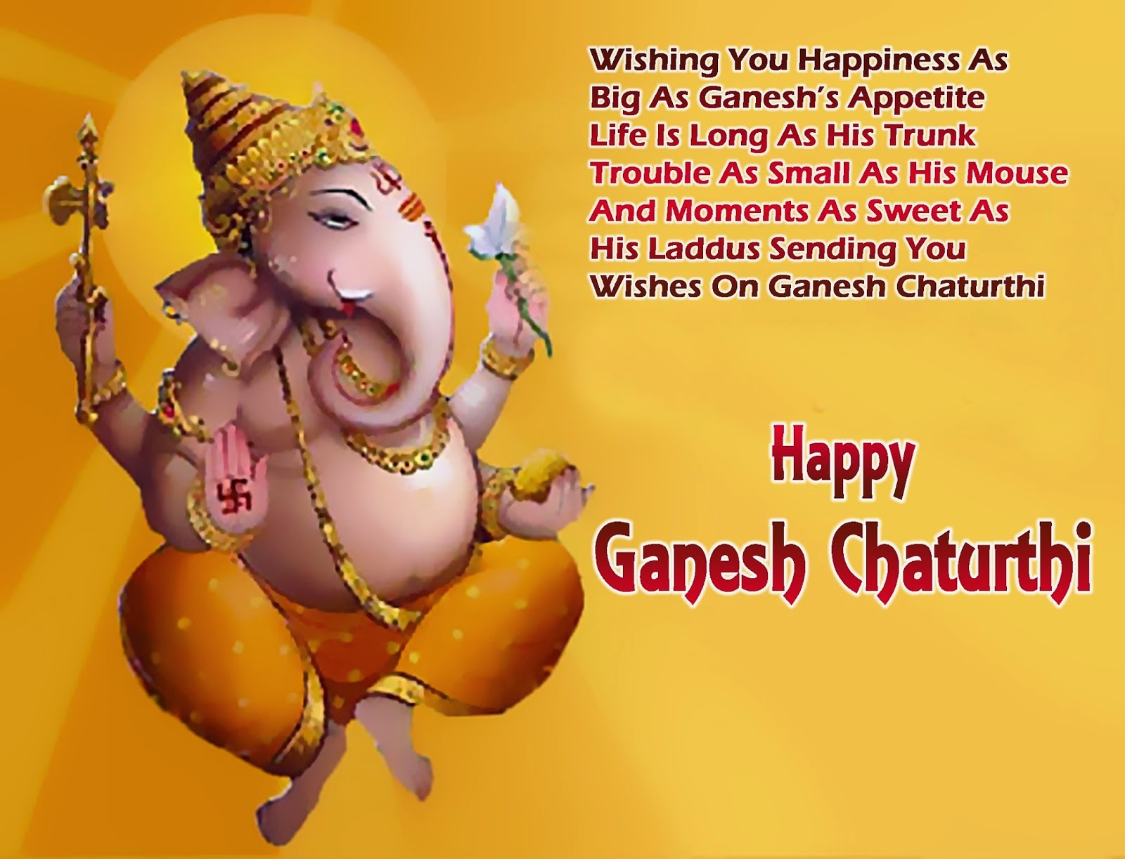 Happy Ganesh Chaturthi Messages For Friends