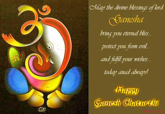 Happy Ganesh Chaturthi Quotes Pics