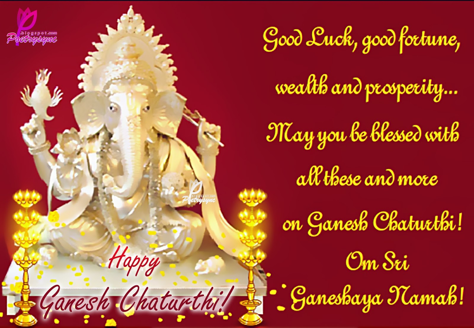 Happy Ganesh Chaturthi Wishes Images